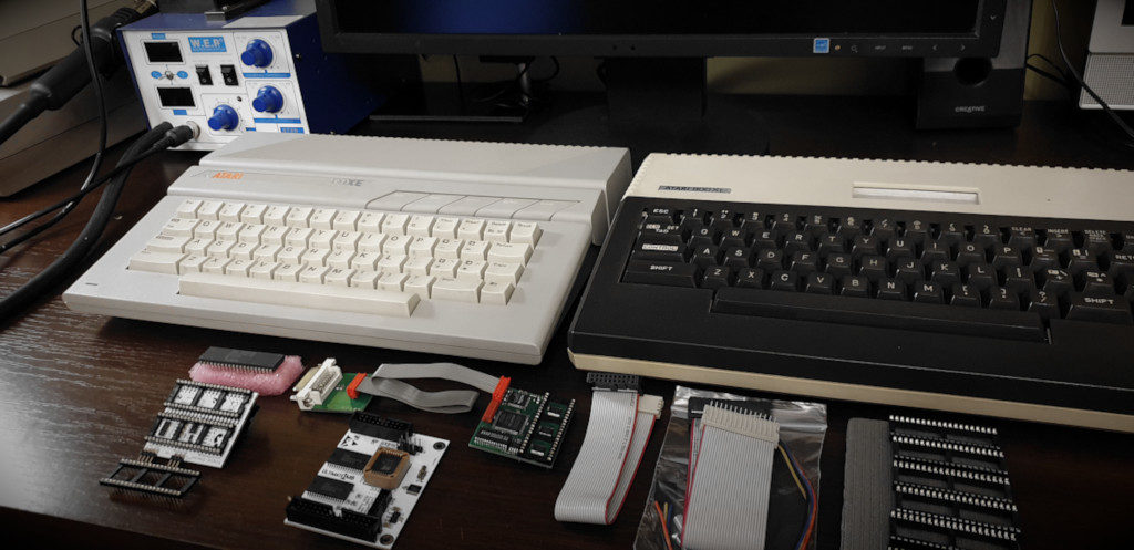 Atari 130XE and 800XL